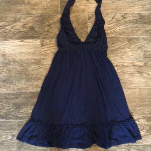 Moda Blue Halter Dress